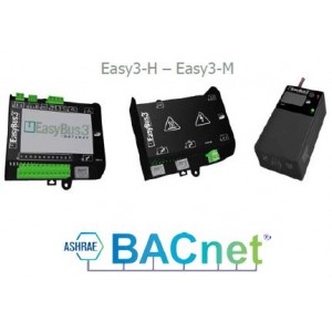 EasyBus 3 avec communication BACnetMSTP et BACnet IP